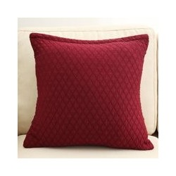 Square Cushion Pillow Covers Shell Home Sofa Bed Decor Throw Pillowcases Pillow Case For Home Bedroom Office 18x18 Pillow is n